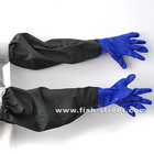 Aquarium Glove One Unit Shoulder Length Protective Gloves